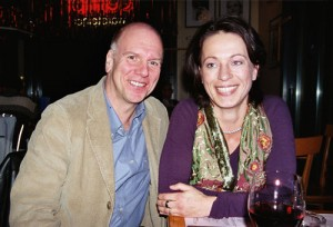Andrea-Fischer-mit-Peter-Robinson